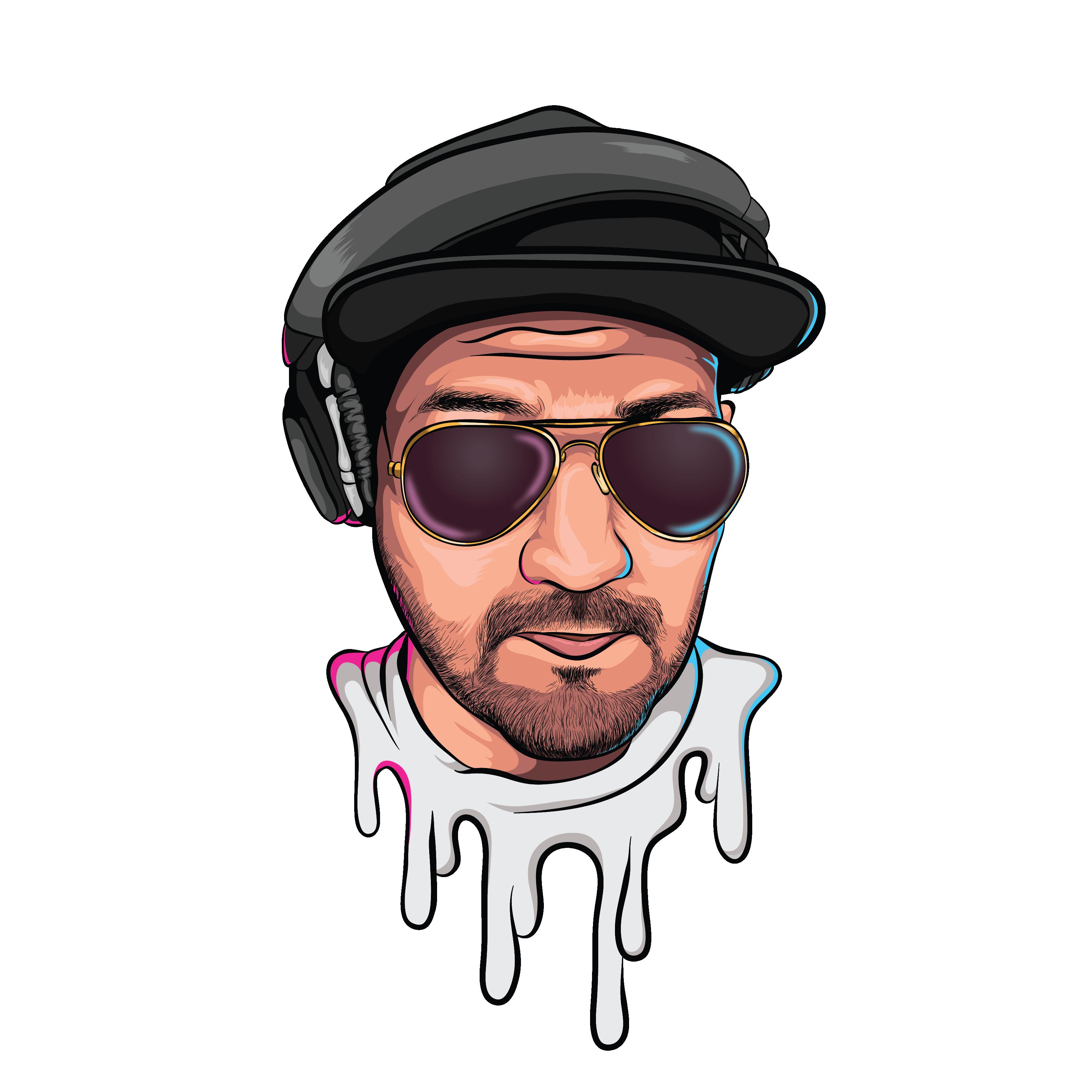 Deejay Simran cartoon head-01